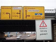 Verkehrsführung Riebeckplatz Halle (20.3.06)