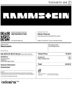 2016-07-09_Rammstein-Ticket